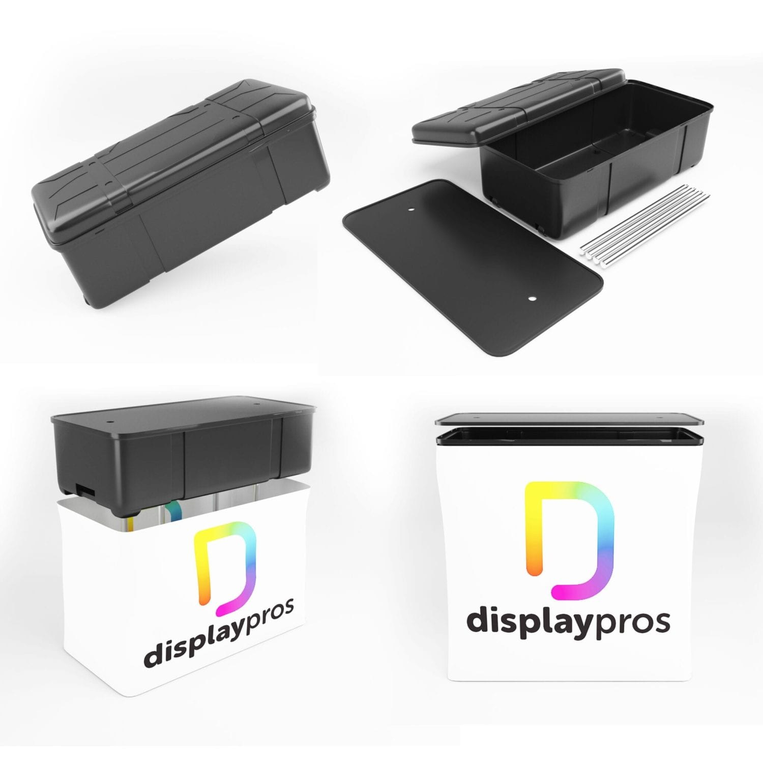 Expo Curve 10×10 Trade Show Display Kit