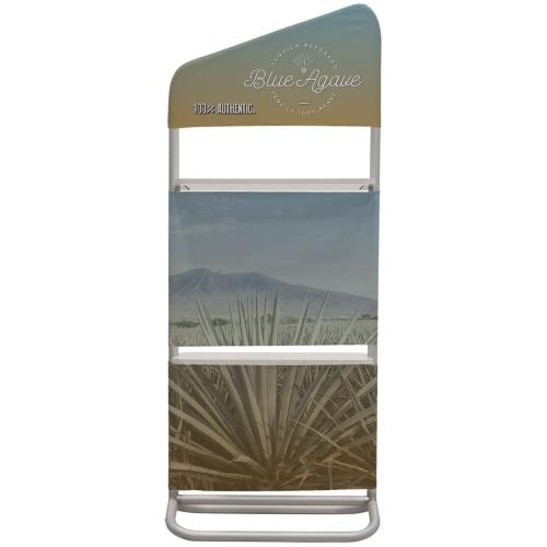 2′ X 59″ Eurofit Evolution Two-shelf Incline Wall