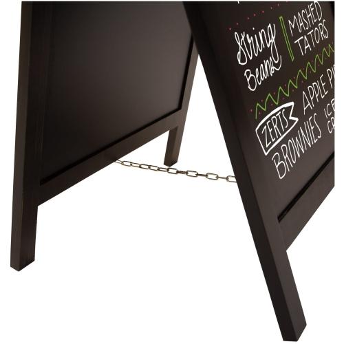 32″ Deluxe Wood A-frame Chalkboard Kit