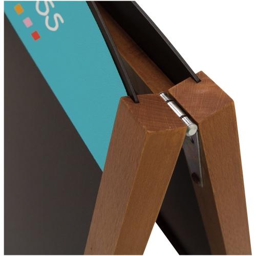 34″ Quick Change Wood A-frame Chalkboard Kit