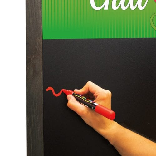 46″ Deluxe Wood A-frame Chalkboard Kit
