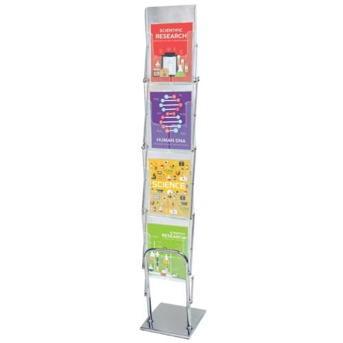 Clear View Literature Display