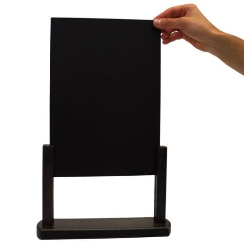 Large Countertop Wood Chalkboard Kit