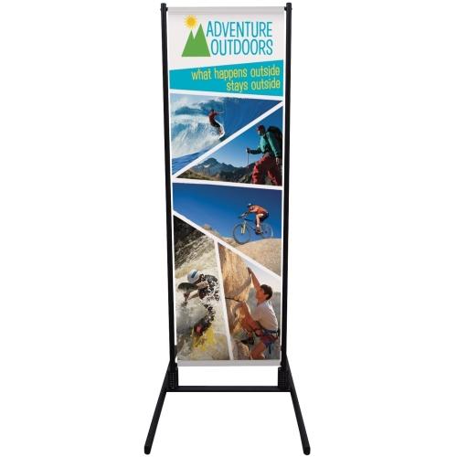 Outdoor Dual Trak Banner Display