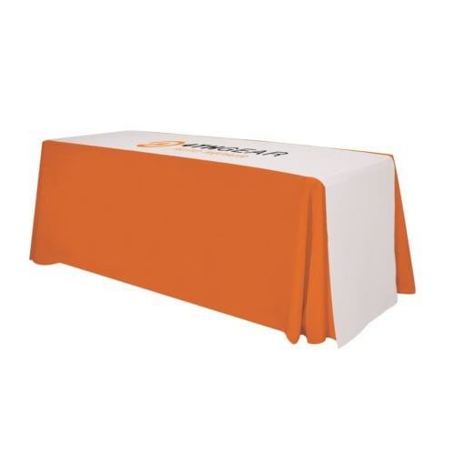 125″ Lateral Table Runner (imprinted Top)