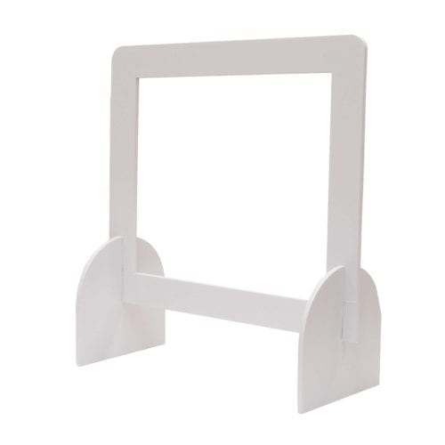 24″ X 24″ Protective Counter Barrier Hardware