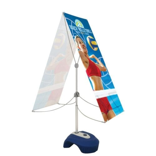 Zephyr Outdoor Banner Stand