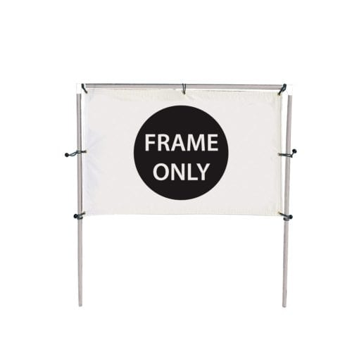 In-Ground Banner Frames